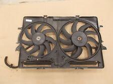 09-12 Audi Q5 3.2L Engine Radiator Cooling Fan Blade Housing w/ Module Relay OEM
