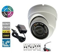"1/3"" HD 800TVL In/Outdoor Night Vision Mini Dome Camera Security Camera + Power"