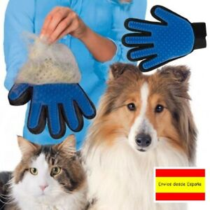 1x Glove True touch Removes Hair, Pet Dog Cat. Brushed Comb Massager