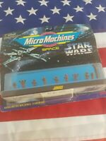 1996 STAR WARS MICRO MACHINES ~ JAWAS ~ MINI FIGURE SET