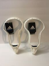 Lot of 2 New Adidas Eqt Enrayge Unstrung Attack Lacrosse Head Size 10 Ai7192