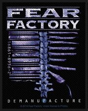 FEAR FACTORY - Patch Aufnäher Demanufacture 8x10cm