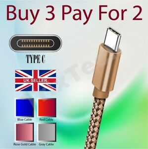 For Samsung Galaxy A90 A71 A91 A51 A31 A41 A21s M30s USB Charger Charging Cable