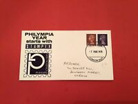 U.K Philympia London Stampex 1970 Special Cancel stamp cover R36070