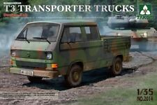 Takom TAO2014 1/35 Bundeswehr T3 Transporter Double Cab Truck