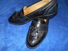 JOHNSTON & MURPHY ALLIGATOR CROC LOAFER SHOES SIZE 9.5 M FROM ITALY.!! SUPERB.!!