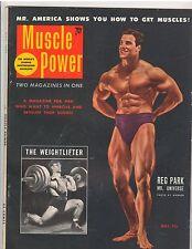 MUSCLE POWER bodybuilding fitness workout magazine/Reg Park Mr Universe 5-53