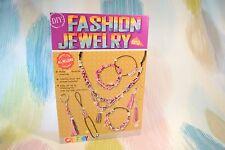 Children 10pc Jewellery Craft Kit! Create Bracelet Necklace Earrings w threads!