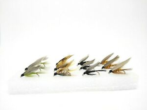 12 Classic Wet Flies III Fly Fishing Kit Set River Trout Grayling Fly Selection