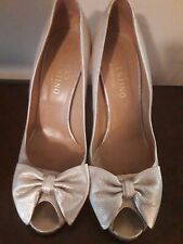 Valentino heels peep toe pump bow size 41 gorgeous