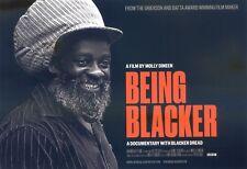 BEING BLACKER MOLLY DINEEN Cinema Flyer Post-card sized Handbill