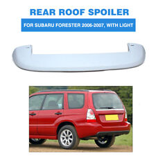 Rear Roof Boot Spoiler Top Wing W/ LED Light for Subaru Forester 06-07 Unpainted