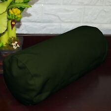 PL14g Army Green Water Proof Outdoor*BOLSTER COVER*Long Tube Yoga Neck Roll CASE
