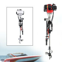 2.3HP 2Stroke Outboard Motor Inflatable Boat Engine Water Cooling CDI System52CC