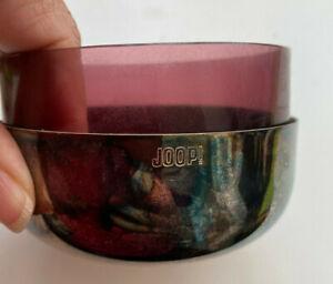 Joop Home Schalen - 4 Teilig - Silber und Glas - guter Zustand