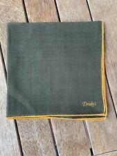 Drake's Silk/Wool Pocket Square 42cm RRP $130