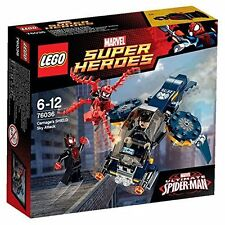 LEGO 76036 SUPER HEROES carneficina'S SHIELD ATTACCO DEL CIELO (SPIDER-MAN)