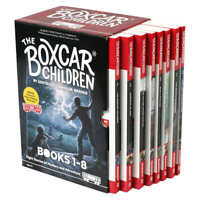The Boxcar Children: 8 Book Box Set by Gertrude Chandler Warne,New,Free Shipping
