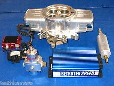 RETRO-TEK SPEED BOSS EFI ELECTRONIC FUEL INJECTION STAGE II 750 CFM