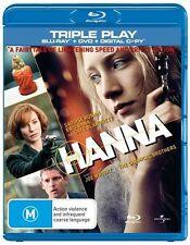Hanna (Blu-ray, 2011, 2-Disc Set)