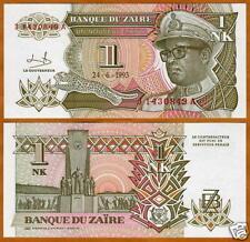 Zaire, 1 Nouveau Likuta, 1993, P-47, UNC --> Mobutu