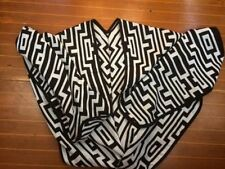 Geometric Acrylic Scarves and Wraps for Women