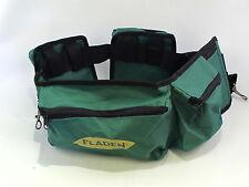 Stalking Waist Tackle Bum Bag Fladen 6 Zip Pockets 2 Spring Clips Adjustable
