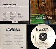 "SHELTON BLAKE *VG+* 2013 US WARNER BROS PROMO CD SINGLE ""DOIN' WHAT SHE LIKES"""