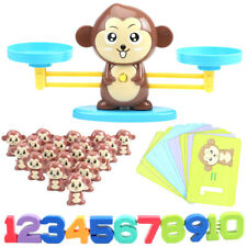 Board Game Monkey Match Math Balancing Scale Toy Educational Toy for Children