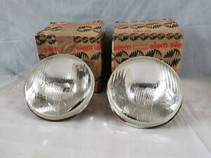 Pair Lights Front R+L Siem 4252 Fiat 1100/103 Bauletto And TV Campagnola NOS