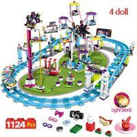 free ship 2 Block Tech,Amusement Park Friends Bumper Cars Circuit,Dino Park