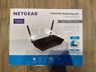 WiFi Modem Router - Netgear N300 Built-in ADSL2+ Modem