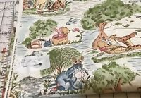Winnie the Pooh Day in the Park Fabric By the HALF Yard