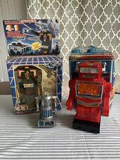 Vintage 70's 80's Toy Robot Lot Zeroid , KO Transformer