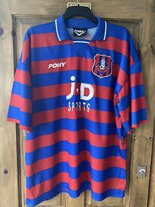 Oldham Athletic Vintage Home Football Shirt 1996/97 XXL Pony 2XL Retro ORIGINAL