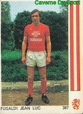 "387 JEAN-LUC FUGALDI US.VALENCIENNES VIGNETTE STICKER FOOTBALL""78 LEON GLOWACKI"