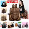 Women Leather Backpack Handbag Rucksack School Shoulder Travel Bags Fashion