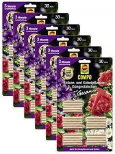 Oleanderhof® Sparset: 6 x COMPO Balkon- und Kübelpflanzen Düngestäbchen mit Guan