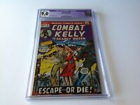 COMBAT KELLY 5 CGC 9.0 WHITE PAGES MARVEL COMICS