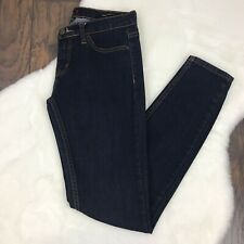 Urban Outfitters BDG Size 28 Jeans Mid-Rise Cigarette Ankle Dark Wash Skinny