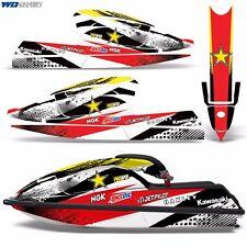 Decal Graphic Kit Kawasaki Jet Ski Wrap Jetski SX 750 Parts Kawi SX750 92-98 RS