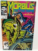 MARVEL COMICS: MORBIUS THE LIVING VAMPIRE VS. THE BASILISK! VOL.1 #6 FEB.1993