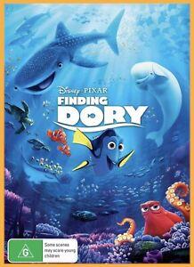 Finding Dory (2016) Australian R4 BRAND NEW Disney DVD Cartoon FREE POSTAGE