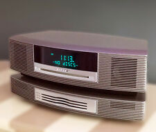 BOSE Wave Music System with AM/FM Radio CD Player with matching 3 CD Changer
