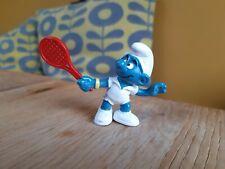 Vintage Smurf Tennis Player