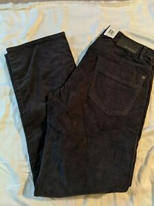 Calvin Klein Men's 34x34 Dark Gray Corduroy Pants NWT