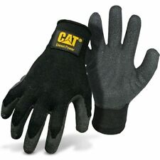 Cat Diesel Power Latex Palm Work Gloves Medium