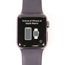 Apple Watch Series 3 38mm Space Gray Aluminum Black Sport Band MTF02LL/A