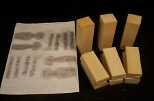 3 Basswood Hitty Doll Carving Blanks Pattern Included