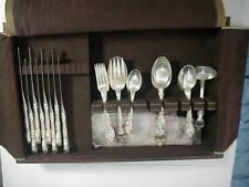 GORHAM MELROSE STERLING SILVER 38 Piece FLATWARE SET Service for 8